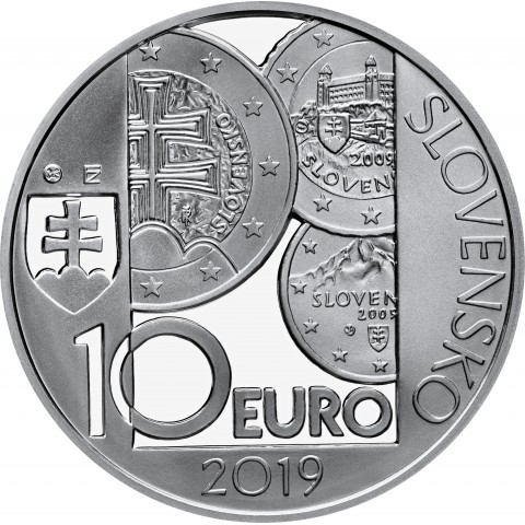 10 Euro Slovakia 2019 - 10th anniversary of the introduction of the euro in Slovakia (Proof)