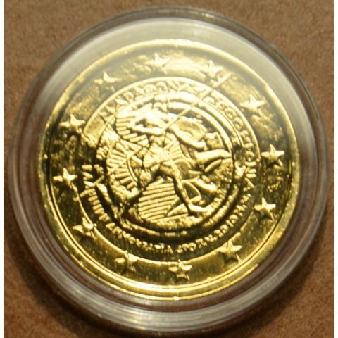 2 Euro Grécko 2010 - 2500. výročie bitky pri Maratóne (pozlátená UNC)
