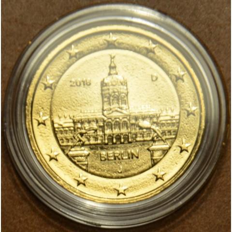 "2 Euro Nemecko ""J"" 2018 - Berlin:  Scharlottenburg (pozlátená UNC)"