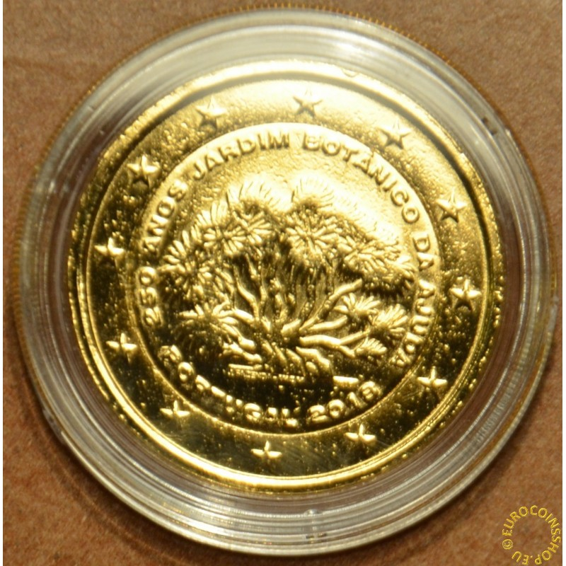 2 Euro Portugal 2018 - 250 years of Ajuda (gilded UNC)