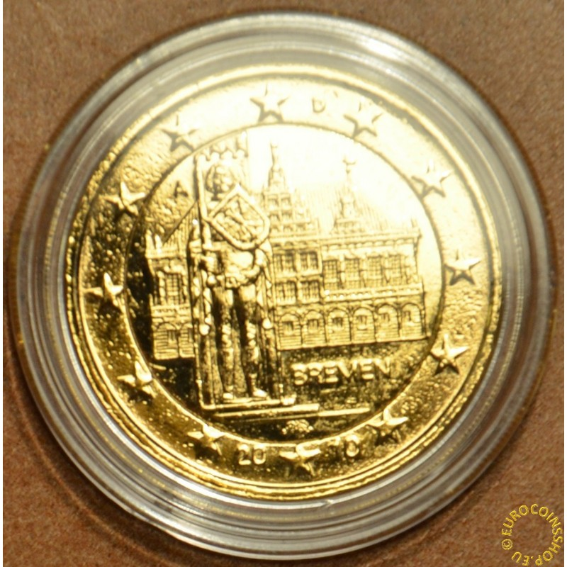 "2 Euro Germany ""A"" 2010 - Bremen: Town hall with sculpture of Roland  (gilded UNC)"