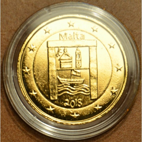 2 Euro Malta 2018 - Kultúrne dedičstvo (pozlátená UNC)