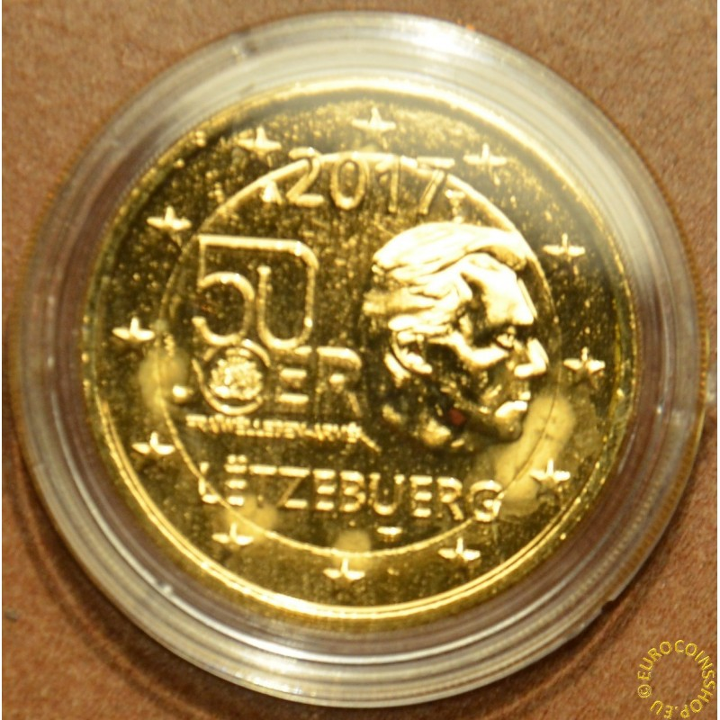 2 Euro Luxembourg 2017 - Military service (gilded UNC)