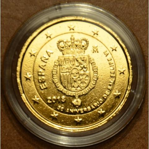 2 Euro Spain 2018 - Felipe VI. (gilded UNC)