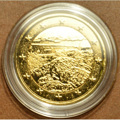 2 Euro Finland 2018 - National park Koli (gilded UNC)