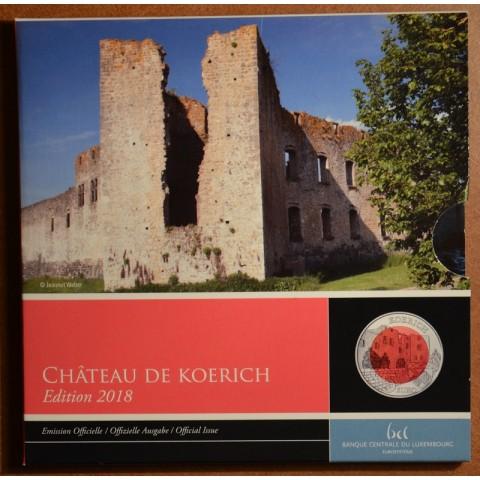 5 Euro Luxembursko 2018 - Koerich (Proof)