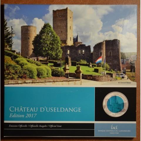 5 Euro Luxembursko 2017 - Useldange (Proof)