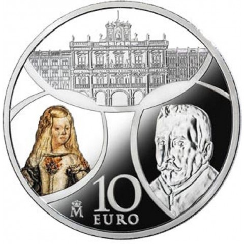 10 Euro Španielsko 2018 - Baroque and Rococo (Proof)
