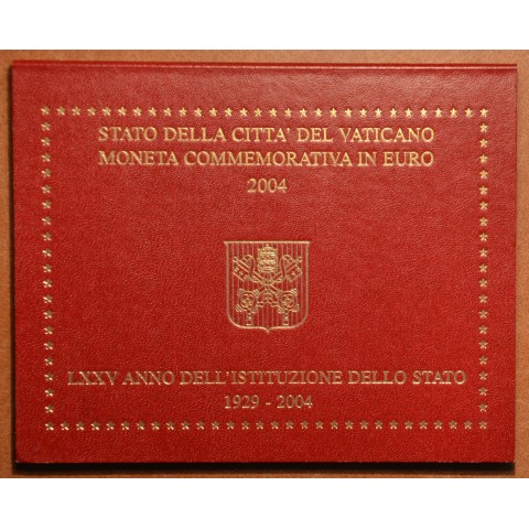 Cover for 2 Euro Vatican 2004 - 75th anniversary of the founding of the Vatican City State