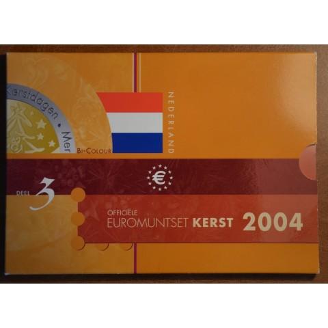Set of 8 coins Netherlands 2004 Christmas set (BU)