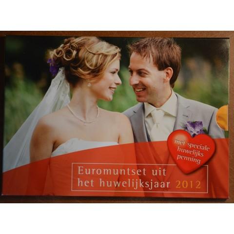 Sada 8 mincí Holandsko 2012 Svadobná sada (BU)