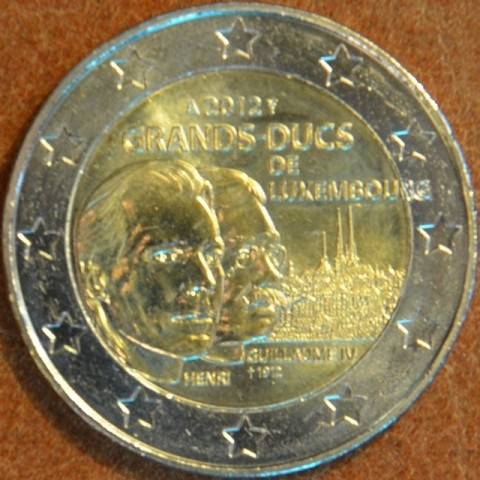 2 Euro Luxembourg 2012 -100th Anniversary of the death of the William IV. (UNC)
