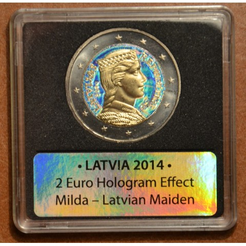 2 Euro Latvia 2014 IV. (colored UNC)