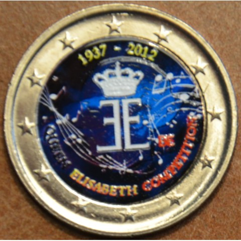 2 Euro Belgium 2012 - The 75th anniversary of the Queen Elisabeth Competition III. (UNC colored)