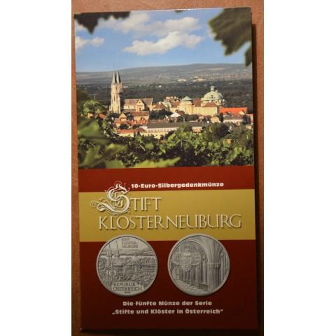 10 Euro Austria 2008 - Klosterneuburg  (BU)