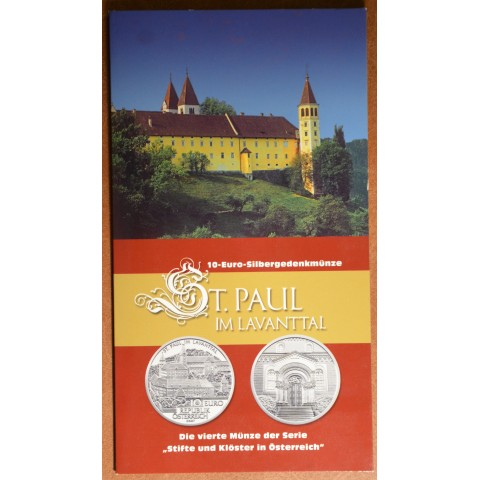 10 Euro Austria 2007 - St. Paul in Lavanttal (BU)