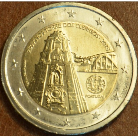 2 Euro Portugal 2013 - 250 Years of the Torre dos Clérigos (UNC)