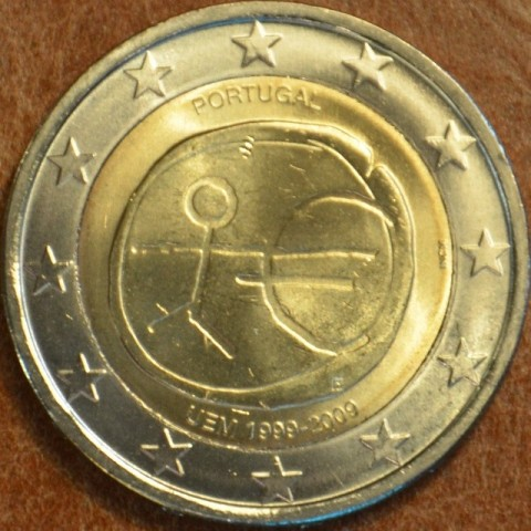 2 Euro Portugal 2009 - 10th Anniversary of the Introduction of the Euro (UNC)