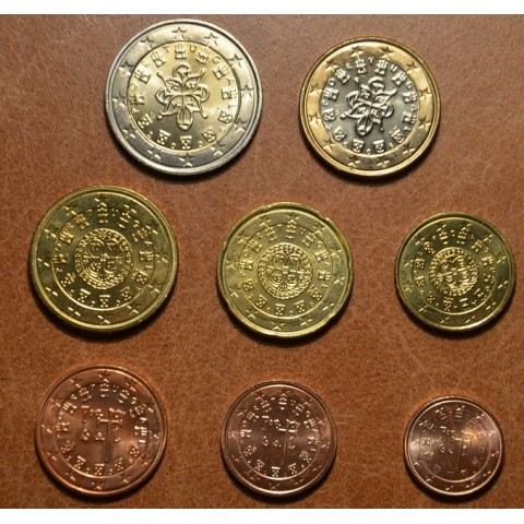 Set of 8 coins Portugal 2006 (UNC)