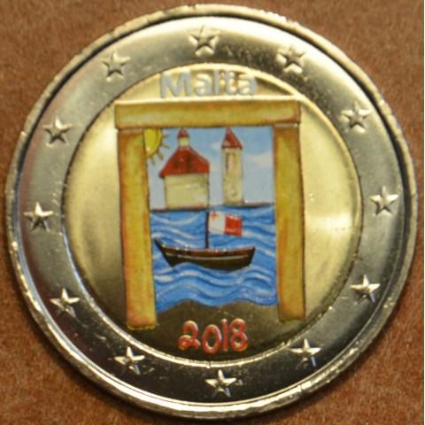 2 Euro Malta 2018 - Cultural heritage (colored UNC)