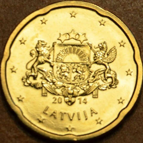 20 cent Latvia 2014 (UNC)
