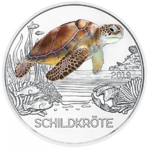 3 Euro Austria 2019 - Turtle (UNC)