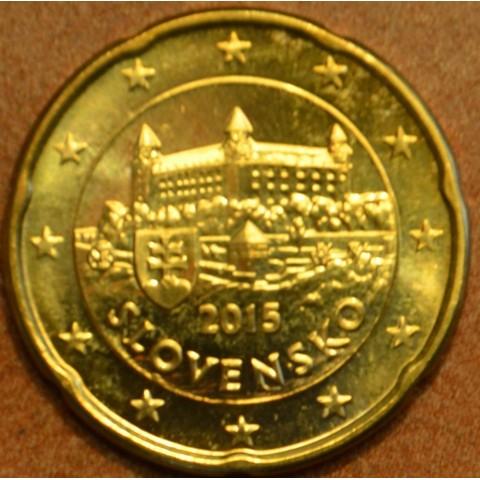 20 cent Slovakia 2015 (UNC)