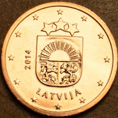 2 cent Latvia 2014 (UNC)