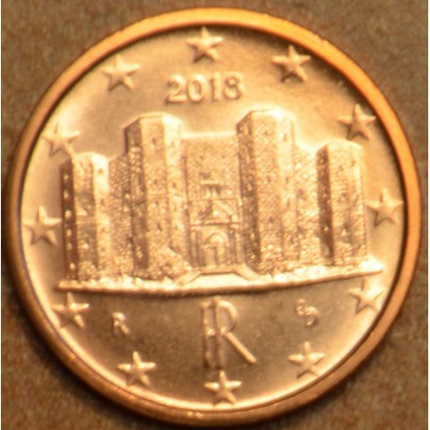 1 cent Italy 2018 (UNC)