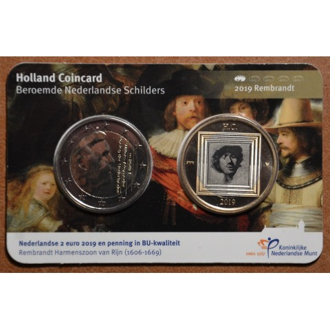2 Euro Netherlands 2019 - Holland coin fair (BU)