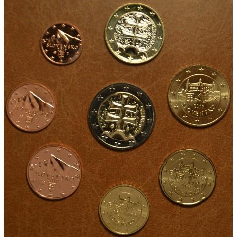 Set of Slovak coins 2019 (UNC)
