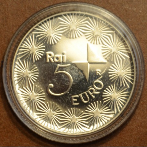 5 Euro Italy 2004 - 50 years Television in Italy (Proof)