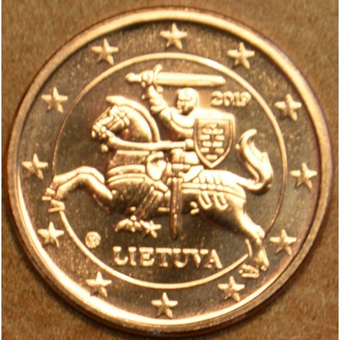 2 cent Lithuania 2019 (UNC)