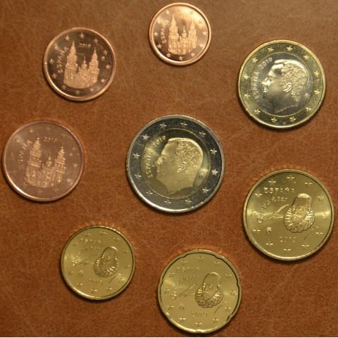 Set of 8 coins Spain 2019 (UNC)