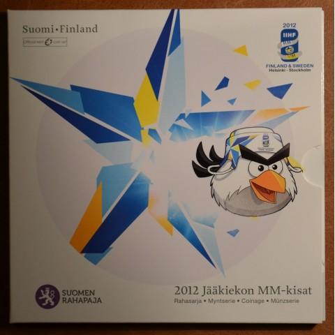 Set of 8 eurocoins Finland 2012 (BU)