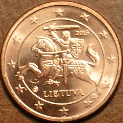 2 cent Lithuania 2015 (UNC)