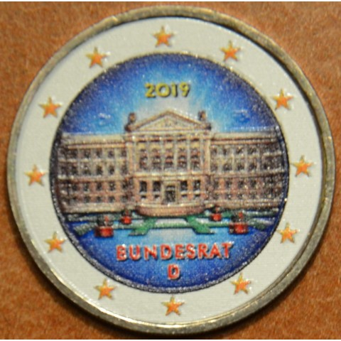 2 Euro Germany 2019 - Bundesrat (colored UNC)