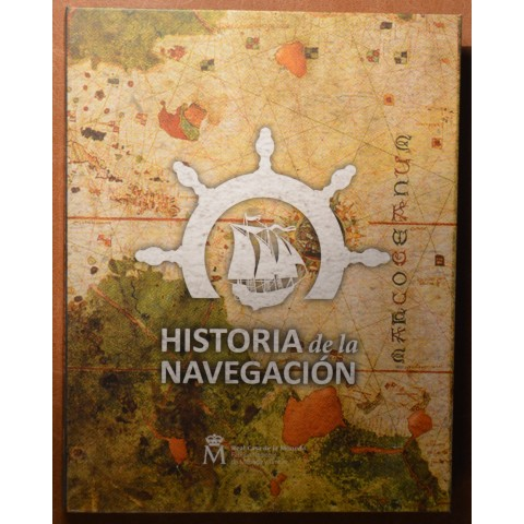 Official album for 1,5 Euro Spain Historia de la Navegacion