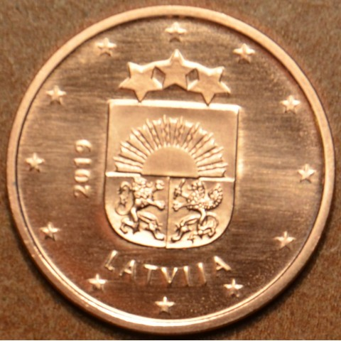1 cent Latvia 2019 (UNC)