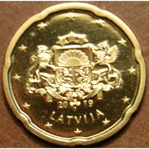 20 cent Latvia 2019 (UNC)