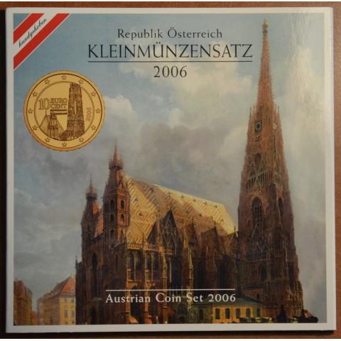 Set of 8 coins Austria 2006 (BU)