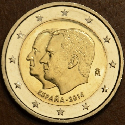 2 Euro Spain 2014 - Felipe VI. - New king of Spain  (UNC)