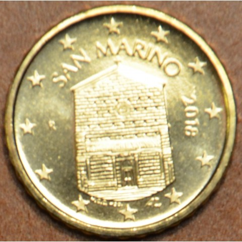 10 cent San Marino 2018 - New design (UNC)