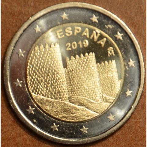 2 Euro Spain 2019 - UNESCO: Ávila (UNC)