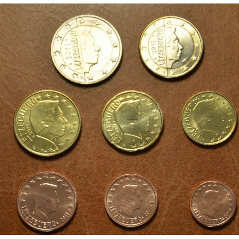 Set of 8 coins Luxembourg 2011 (UNC)