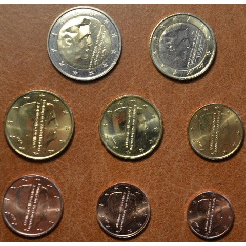 Set of 8 coins Netherlands 2014 (UNC)