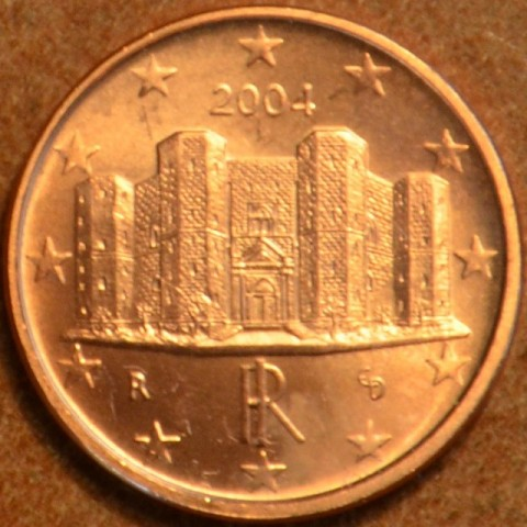 1 cent Italy 2004 (UNC)