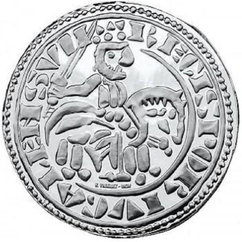 1,50 Euro Portugal 2009 - Morabitino of Sancho II. (UNC)