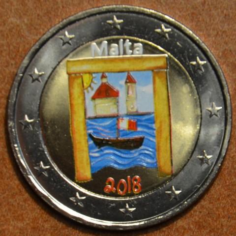 2 Euro Malta 2018 - Cultural heritage II. (colored UNC)