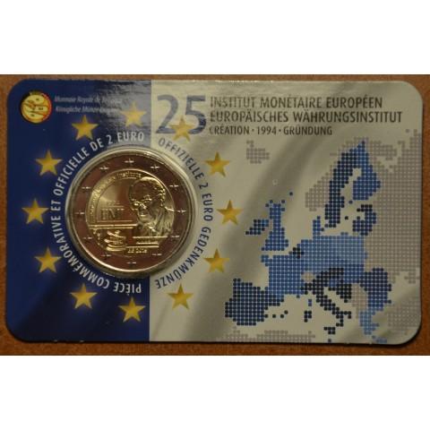 2 Euro Belgium 2019 -  25 years of European Monetary Institute (BU - French side)